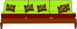 Clipart - designed canape