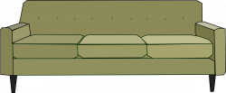 Clipart - Green Sofa