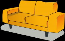 Sofa Clip Art at Clker.com - vector clip art online, royalty ...