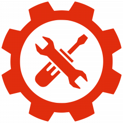 Gear tools by @ben, An icon of gear tools., on @openclipart ...
