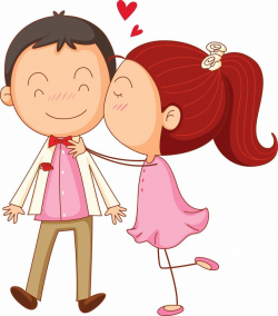 28+ Collection of Cute Cartoon Couple Clipart | High quality, free ...
