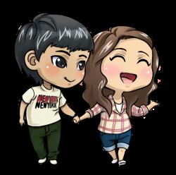 Love Couple Cartoon (64+)