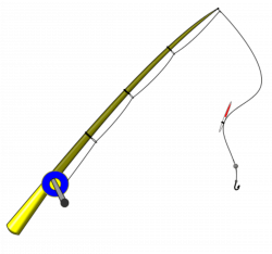 Fishing Rod Clipart PNG - PHOTOS PNG