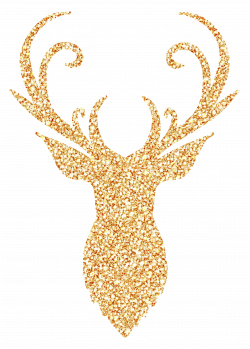 Free Reindeer Antler Head SVG Cut File - Free Pretty Things For You