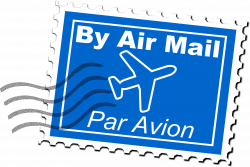 Air Mail Postage Stamp by uroesch | France & the French | Pinterest