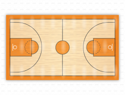 basketball court clipart - OurClipart