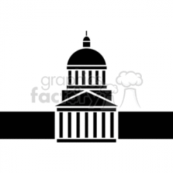 courthouses clipart. Royalty-free clipart # 370471