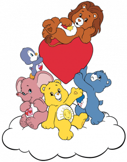 Care Bears and Cousins Clip Art | Cartoon Clip Art