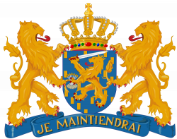 Coat of Arms of the Netherlands and of our King Willem-Alexander. I ...
