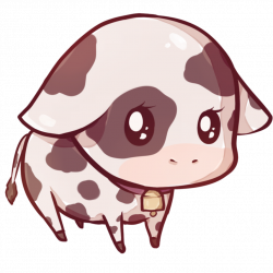 Kawaii cow by Dessineka | Fauna Arts | Pinterest | Cow and Kawaii