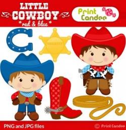 printcandee.com - Little Cowboy Clipart - clip art good for ...