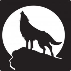 Image result for wolf mountain silhouette | Art Inspiration ...