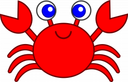 Cartoon Crab Clipart