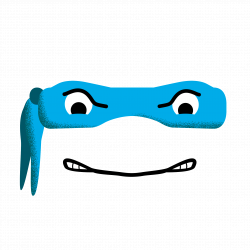 Ninja Turtles Mask Sticker by giacomo_ce for iOS & Android | GIPHY