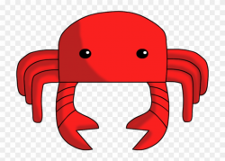 Crab Clipart Clear Background - Clip Art - Png Download ...