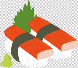Sushi Japanese Cuisine Crab Stick Surimi PNG, Clipart, Angle ...