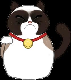Thank You Kitten Clip Art. Grumpy Cat Thank You Clip Art – Cliparts ...