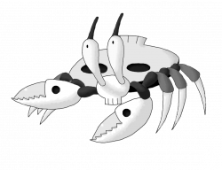 Ghost crab clipart - Clipground