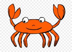 Sea Cartoon clipart - Crab, Food, transparent clip art