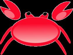 Red Crab Clip Art at Clker.com - vector clip art online ...