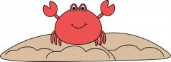 Sand Crab Clip Art - Sand Crab Image | Digistamps/Coloring ...