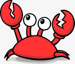 Big Eyes Cute Crabs, Crab Material, Cute Style, Big Eyes PNG Image ...