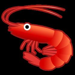 Shrimp Icon | Noto Emoji Animals Nature Iconset | Google