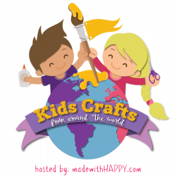 Kids Crafts From Around the World - Made with HAPPY