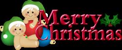 Merry Christmas Clip Art | Merry Christmas Semi Clipart | Wishing ...