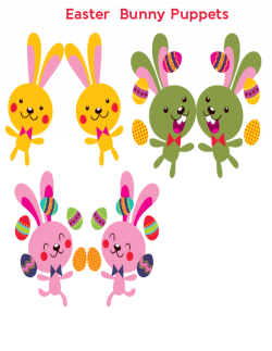 Easter Bunny Puppets | Easter bunny, Puppet and Bunny