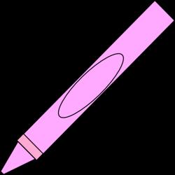 Pink Crayon Clip Art at Clker.com - vector clip art online, royalty ...