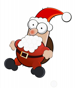 28+ Collection of Crazy Santa Clipart | High quality, free cliparts ...
