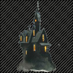 Watercolor Halloween' by Lanan Illustration
