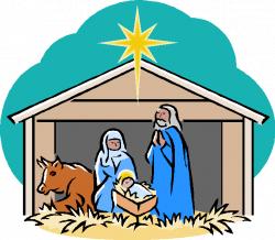 Free Nativity Scene Clipart Group (53+)