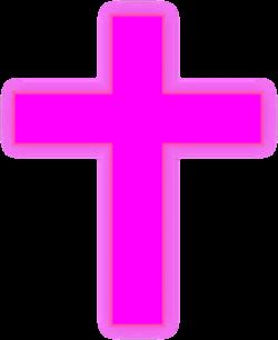 Pink Cross Clip Art at Clker.com - vector clip art online, royalty ...
