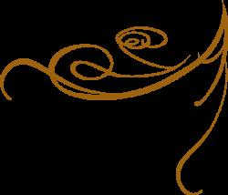 Gold Swirls png | Decorative Swirl Gold clip art - vector clip art ...