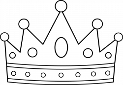 King Crown Clip Art Black And White   Clipart Panda - Free Clipart ...