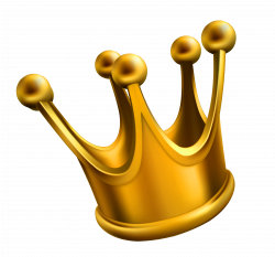 Golden Crown PNG Clipart Picture | Gallery Yopriceville - High ...