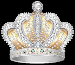 Silver Gold Diamond Crown PNG Clipart Image | Clip Art | Pinterest ...