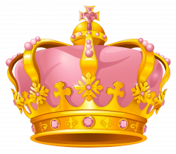 Golden Pink Crown PNG Clipart | Gallery Yopriceville - High-Quality ...