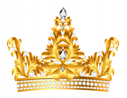 Gold and Diamonds Crown PNG Clipart | Gallery Yopriceville - High ...