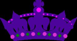 Purple Queens Crown Clip Art at Clker.com - vector clip art online ...