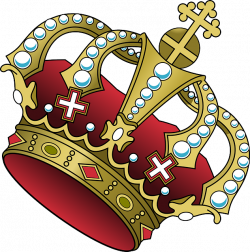Crown clipart tilted - Pencil and in color crown clipart tilted