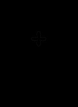 Fancy White Cross Clipart