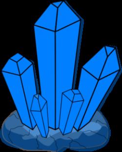 Blue Crystal Clip Art at Clker.com - vector clip art online, royalty ...