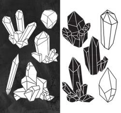 Crystal Clipart, Raw Crystal Clip Art, Crystal Clip Art, Crystal ...