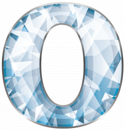 Crystal Number Zero PNG Clipart Image | Gallery Yopriceville - High ...