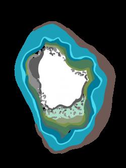Blue Green Geode Crystal illustration boho modern by anjelakbm on ...