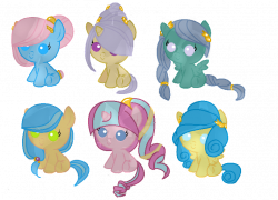 Crystal Pony adoptables CLOSED by SugarMoonPonyArtist on DeviantArt