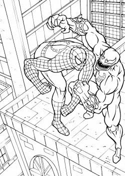venom coloring pages | Coloring Pages | Pinterest | Venom